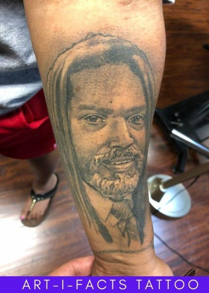 artifacts tattoo portrait